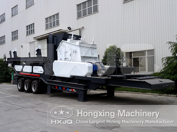 Mobile Crusher,Mobile Crushing Station,Portable Crusher